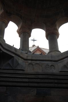 View from inside Hovhannavank narthex