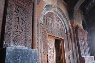 Interior of Hovhannavank
