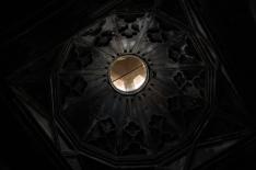 View of Saghmosavank narthex ceiling