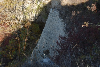Ancient hill fort ruins.