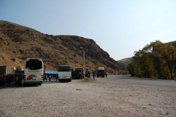 Our faithful buses.