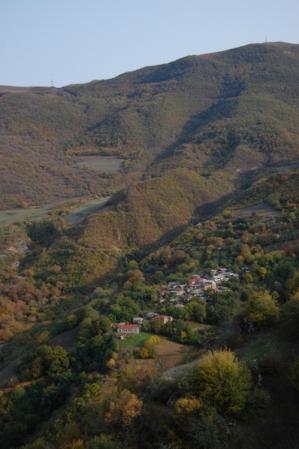 Village in the mountains around Tatev.