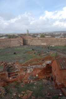 View from the keep.