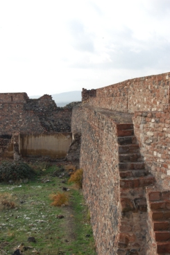 Ramparts near the main gate.