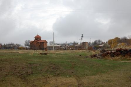 View of St. Astvatsatsin from Talin.